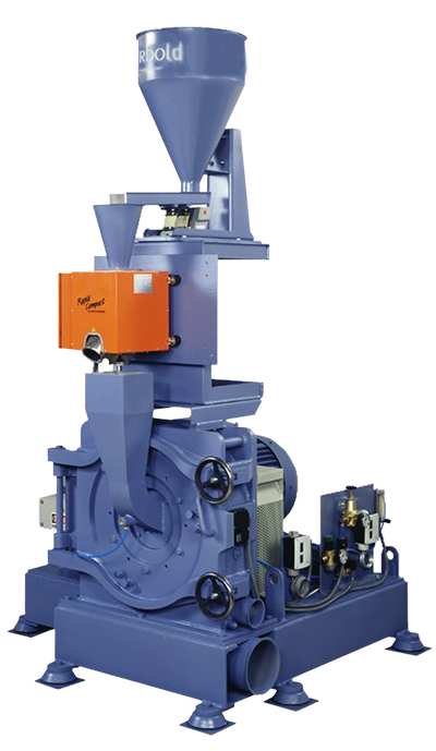 PU Series Pulverizers with Vertically Oriented Tooling