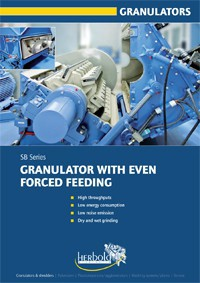 SB Series Force Fed Granulators