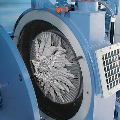 Stricker PolyRec agglomeration plant for engineering plastics waste